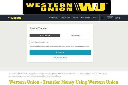 Western Union Transfer Money Using Western Union Western Union