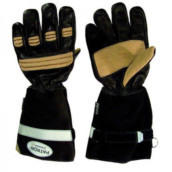 Askö Patron® Pbi Feuerwehrhandschuhe,nach DIN EN 659:2008 (EN 659+A1+AC:2009)    lieferbare Farben: schwarz, beige   lieferbare Größen: 7-12     Ausstattung:...