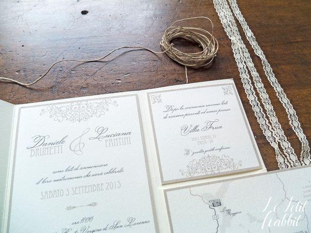 [WEDDING] Romantic Wedding Invites by lepetitrabbit.it