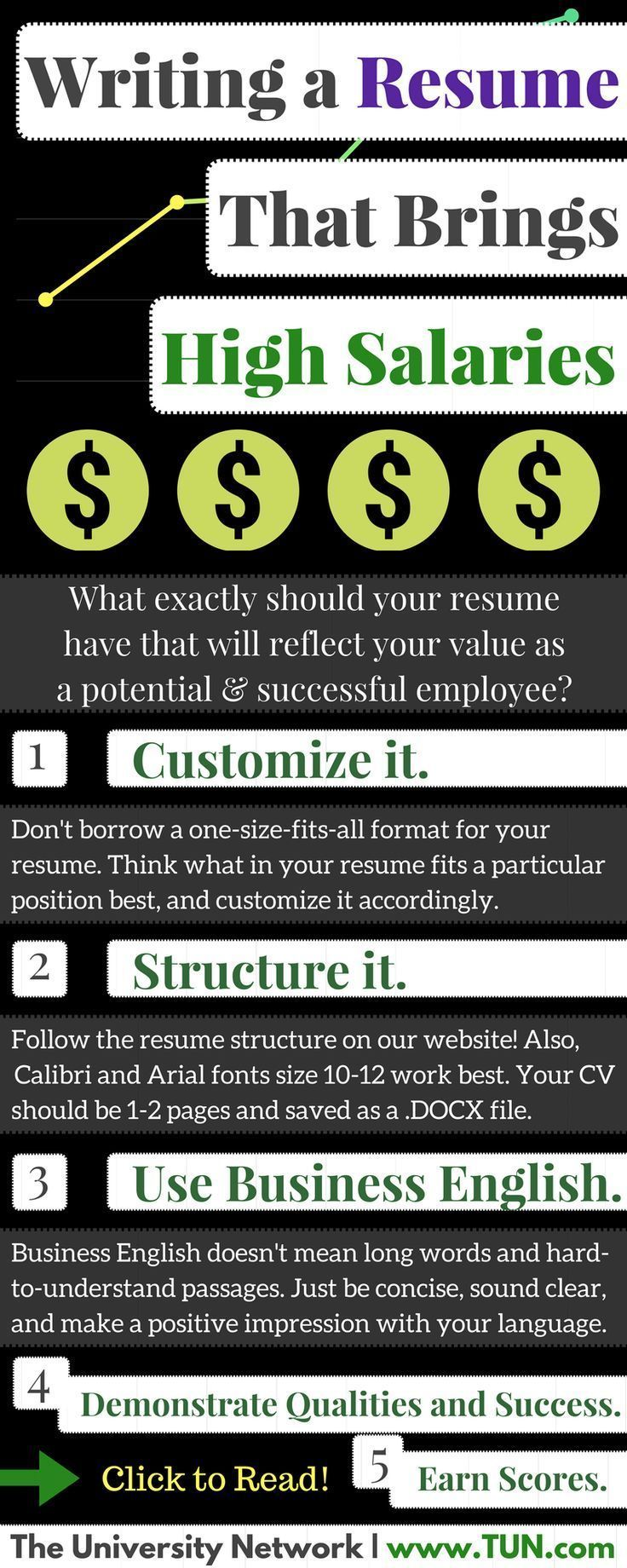 every word of your resume should cry about your worth for