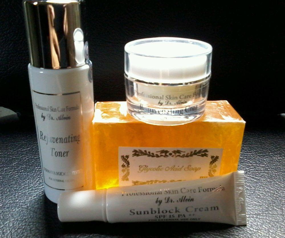 Rejuvenating Set Pscf Dr Alvin Whitening Bleaching Glycolic Soap Rdl Pharmaceutical Alkohol Baby Face Toner Original Acne Prone