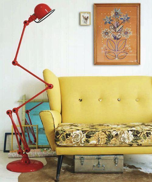 Heart Handmade UK: Retro Home DIY Ideas for Decor | Colourful Flea Market Thrift Style