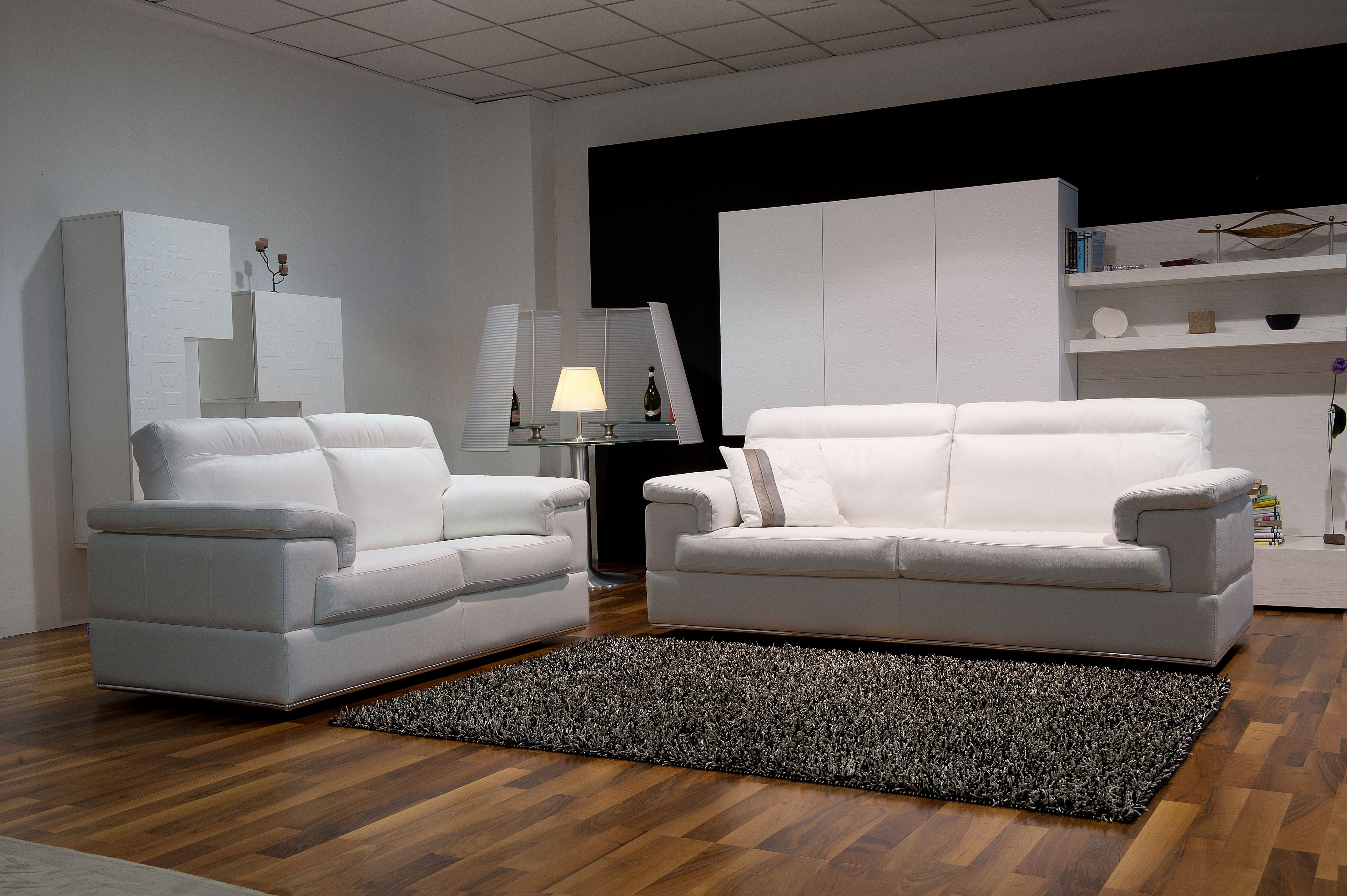 Elegant Italian Leather Sofa Set Pictures Contemporary On Chrome Frame San Go California