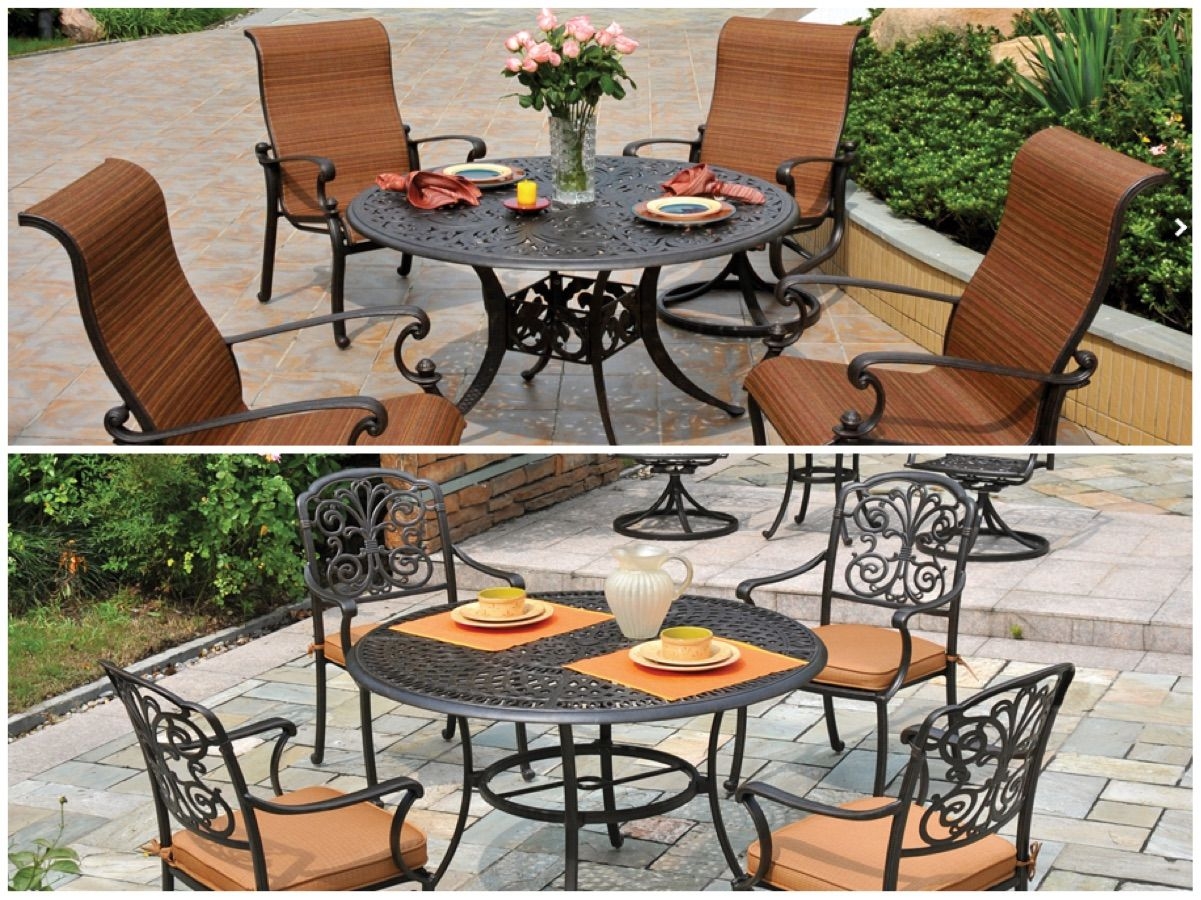 Dining table by hanamint outdoor furniture 50 luxury patio furniture collections