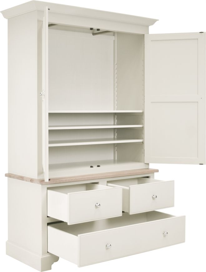 Neptune Bedroom Wardrobes - Chichester Housekeepers Cupboard | Home ...