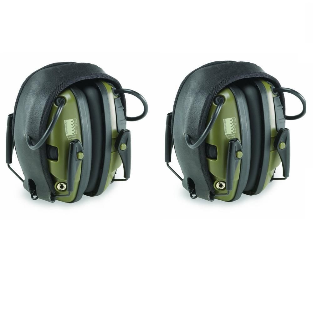 2 Pack Of Howard Leight R 01526 Impact Sport Electronic Earmuff Ear Protection 78 49 Shipped Earmuffs Ear Protection Electronic Ear Muffs