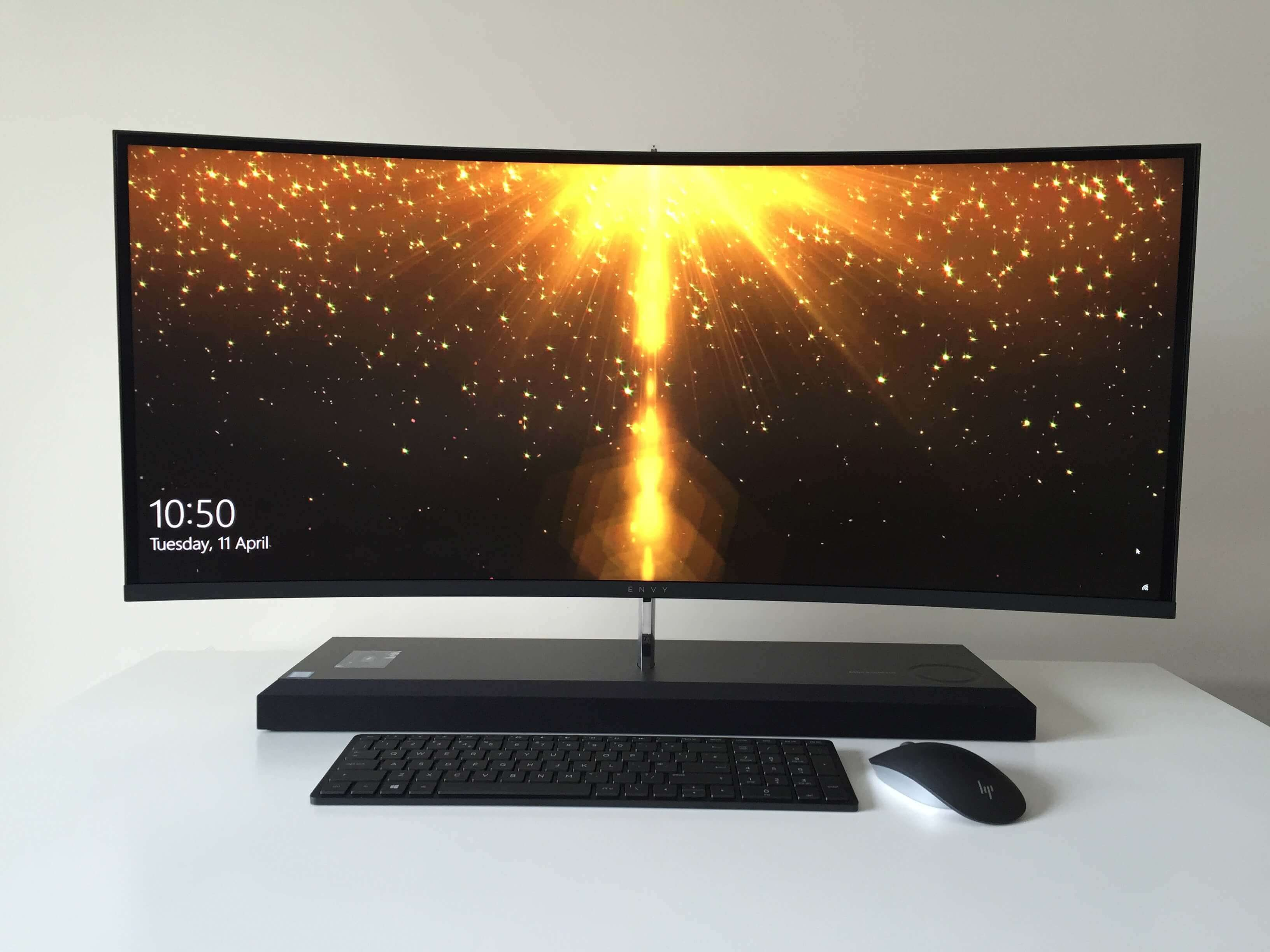 Hp Envy Curved All In One Desktop Review Techx Reviews Curve Latest Laptop