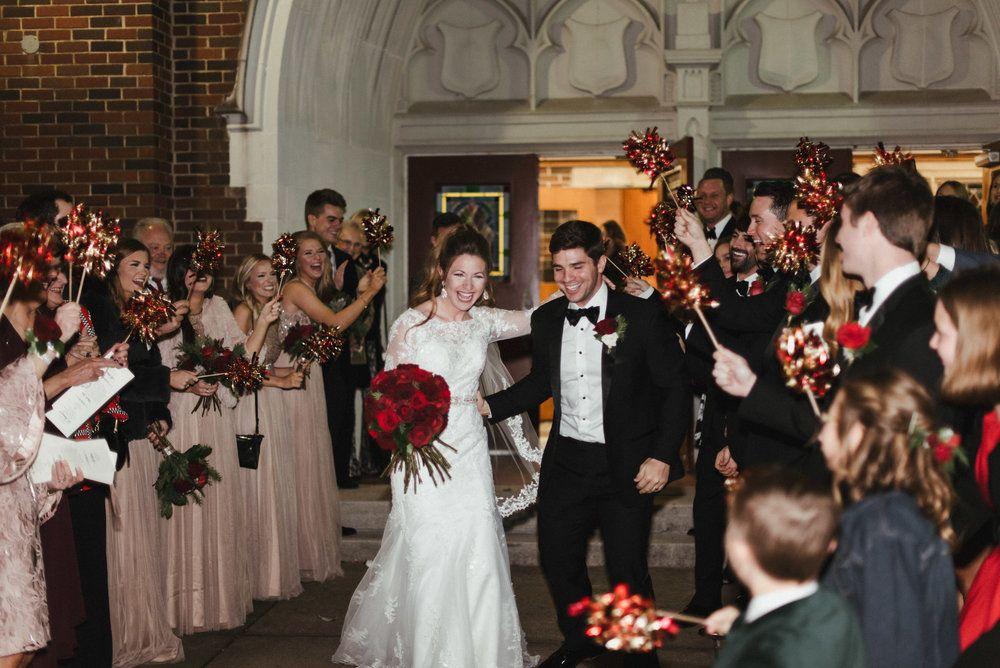 Paige & Stephen Wedding // Grand Exit // Pulaski Heights United ...