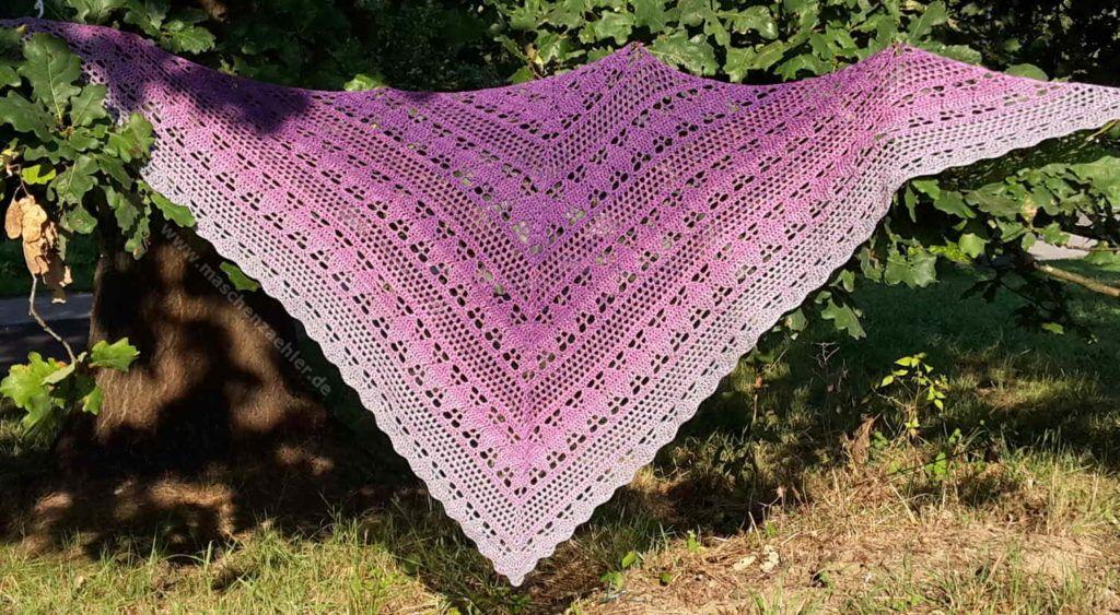 Häkeltuch Amethystos Häkeln Pinterest Shawl Crochet Scarfs