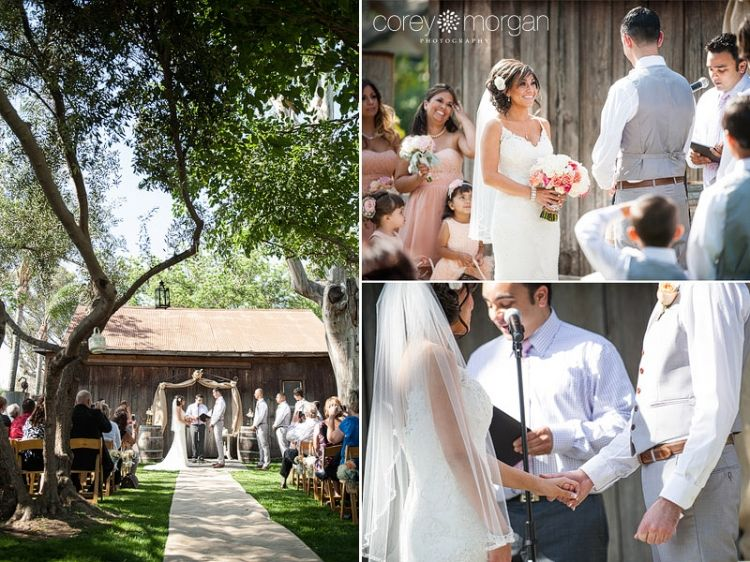 Galleano Winery Wedding Southern California Barn Venues Corey Morgan Photography