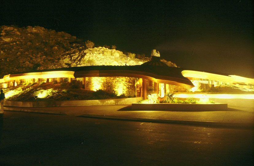 Chart House Restaurant Rancho Mirage California 1977 Kendrick Bangs Kellogg A Pioneer Of Organic Architecture