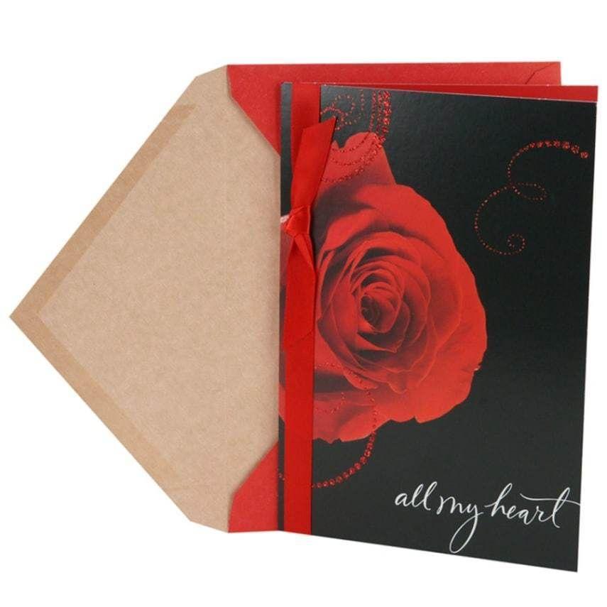 Hallmark valentines daybirthday greeting card for wife