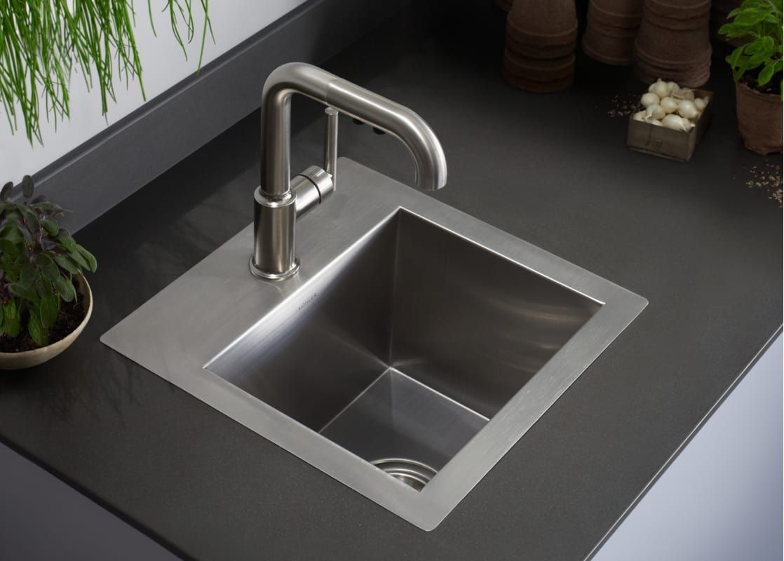 Kohler K 3840 1 Bar Sink Sink Stainless Steel Bar