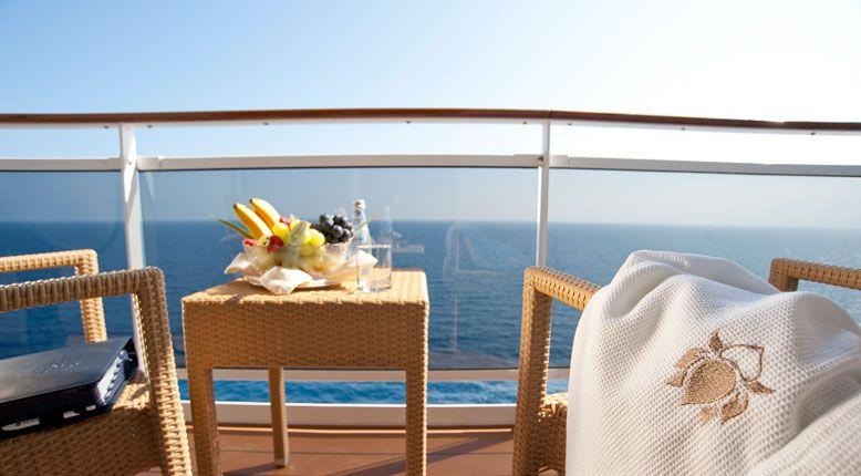 Une Petite Pause Sur Le Balcon De Votre Cabine Msc Cruise Outdoor Lounge Set Luxury Cruise