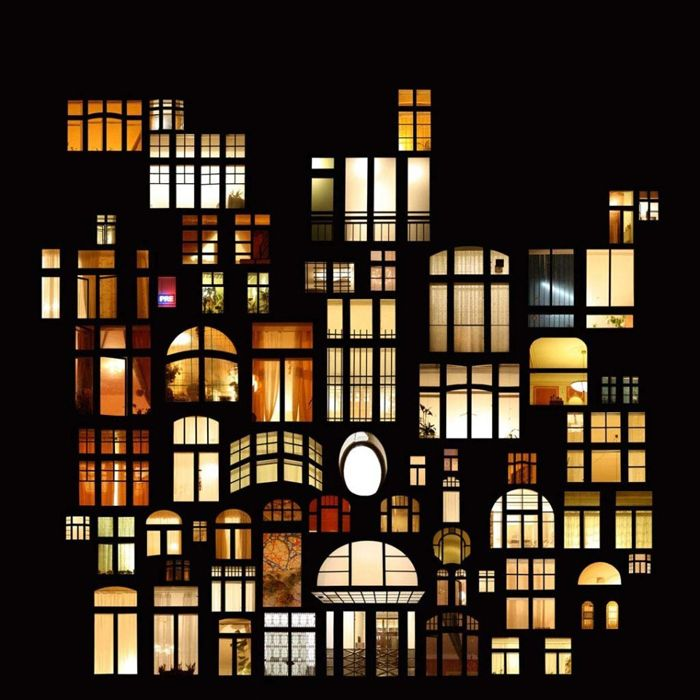 Night windows in collages of Anne Mason | Chill Hour | Stage art ...