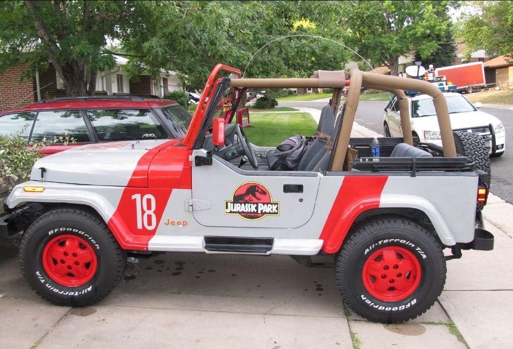633c17d75a Jurassic Park Car Decal  JurassicPark  BadAss