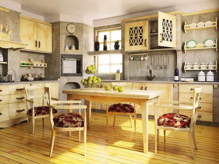 Inspiring Ideas Kitchen Wall Ideas Amazing Kitchen : Kitchen Island Decor  Idea With Wall Gray,