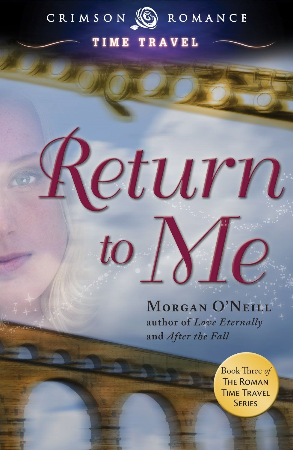 The third novel in the Roman Time Travel series, Return to Me finds time traveler Gigi Perrin happily settled into twenty-first century life with her husband, the former Roman senator and military commander, Quintus Magnus. Gigi has resumed her successful musical career, playing the flute for her adoring fans, while making her first foray into Hollywood by creating the musical score for a feature film about the Roman emperor Nero.