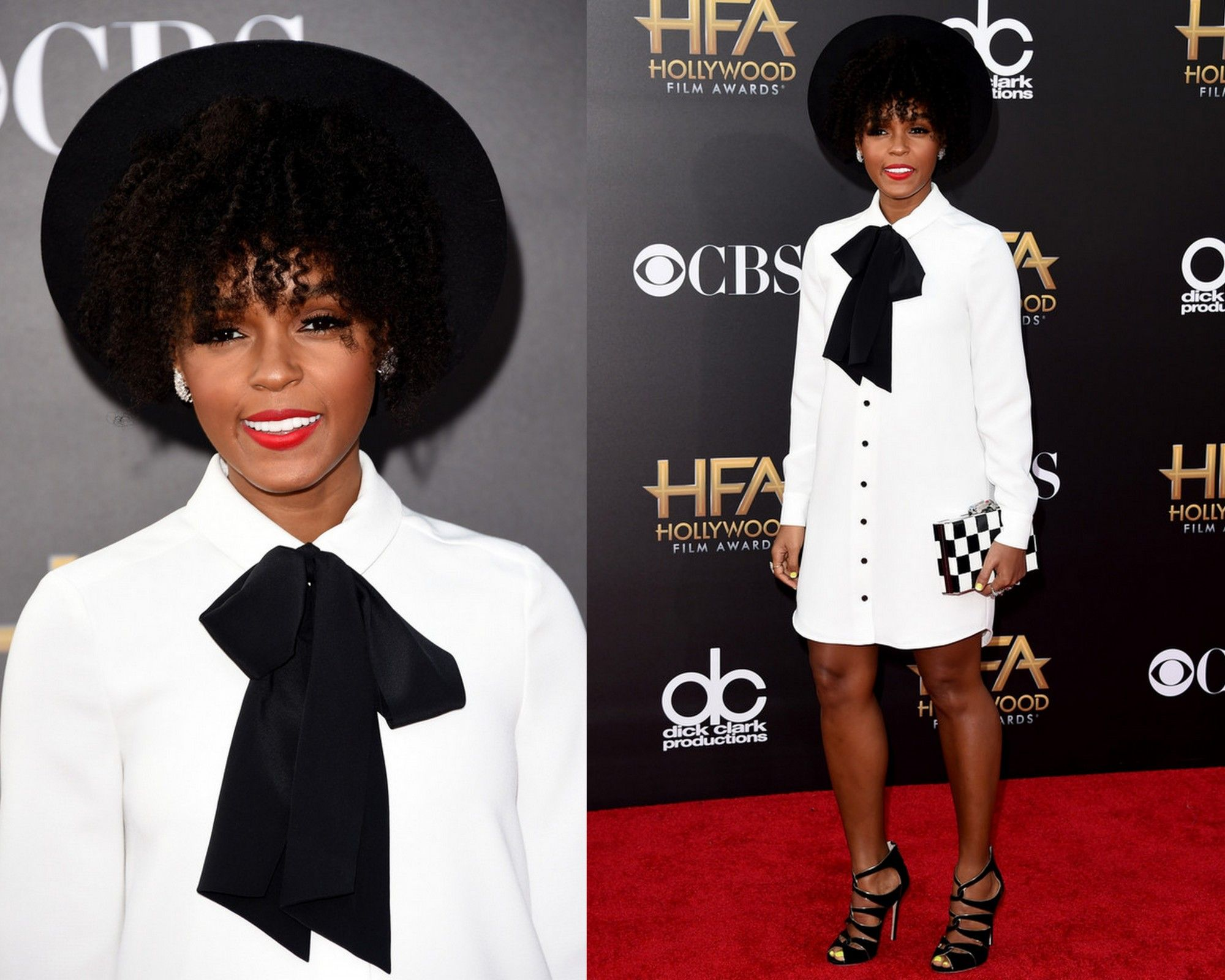 Janelle monae in kate spadeth annual hollywood film awards