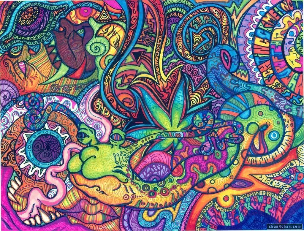 Lsd Pesquisa Google Crazycards Pinterest Ilustra Es ~ Papel De Parede Hippie Para Quarto