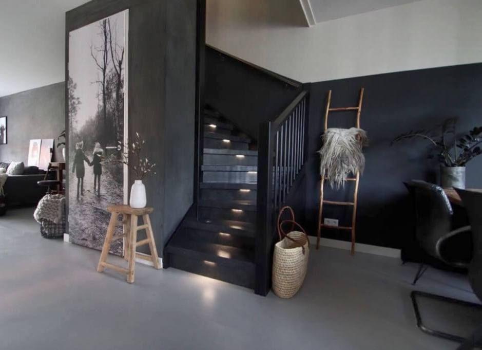 Een upstairs traprenovatie in home house home en house styles