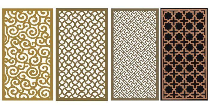 50+ Decorative wood lattice panels inspirations