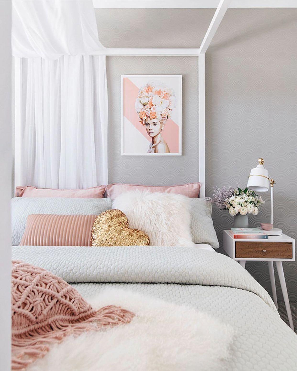 #Teengirlbedroomideas | Pink bedrooms, Bedroom design ... on Beige Teen Bedroom  id=48098