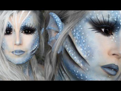 Sea Siren Makeup Tutorial Youtube Mermaid Makeup Tutorial Mermaid Makeup Halloween Halloween Makeup Tutorial