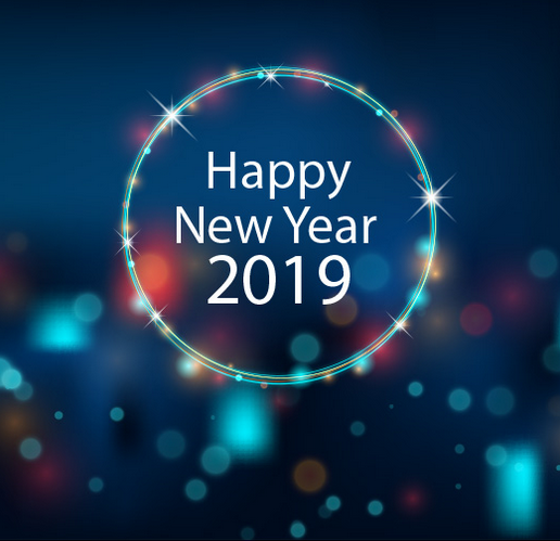 Happy New Year Video 2019 Happy new year message, Happy