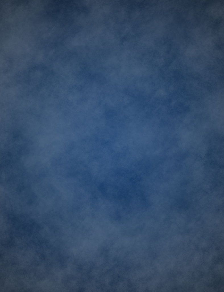 Abstract Dark Blue Printed Old Master Backdrop For Photography