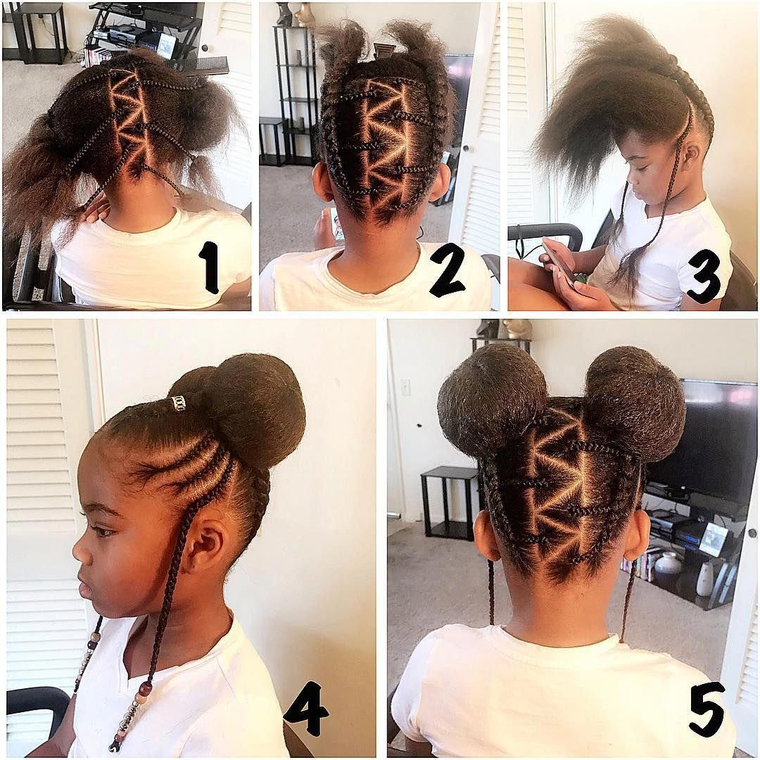 Image May Contain 2 People Closeup Braidedstyles Kids Braided Hairstyles Natural Hairstyles For Kids Kids Hairstyles