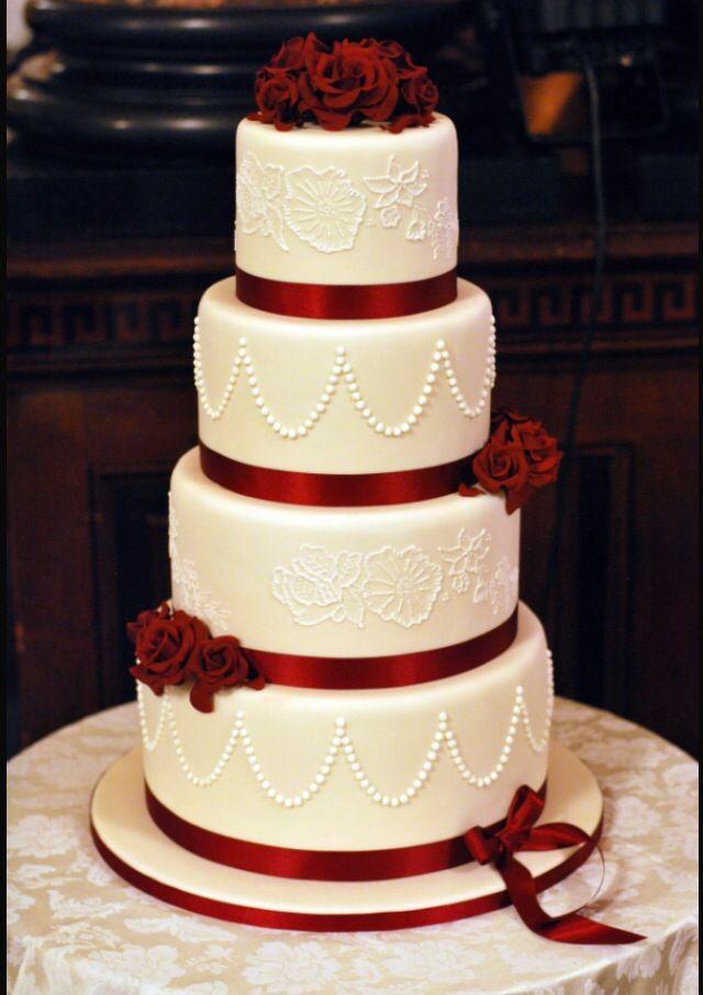 Wedding Cake Cakez In 2019 Wedding Cake Red Burgundy