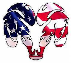 A American Flag Dodge Wallpaper