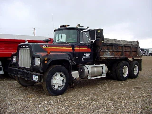 Used Mack Rs700l Heavy Duty Dump Truck For Sale In Montana Conrad