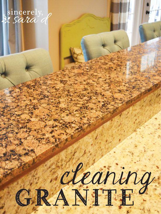 Cleaning Granite Countertops Cleaning Granite Countertops How
