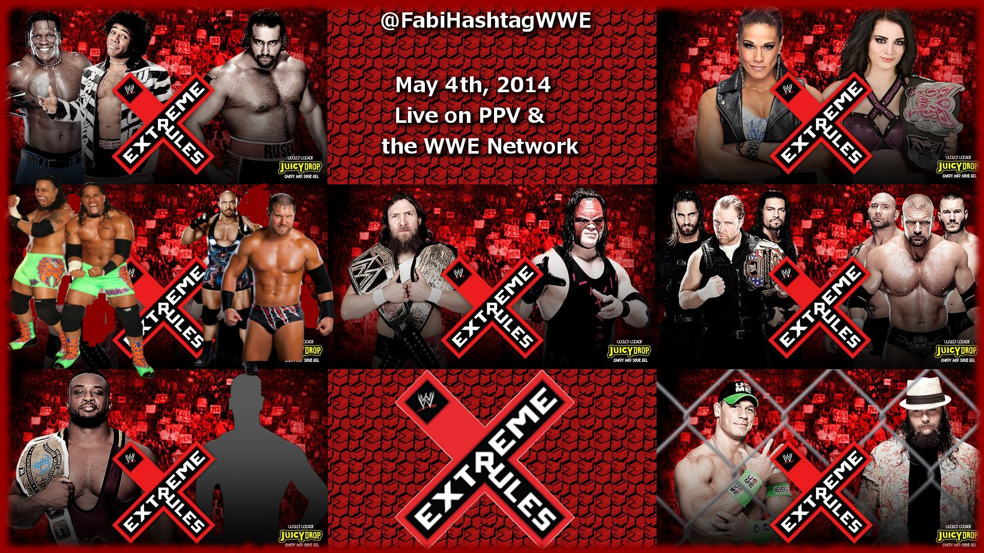 Search results for wwe extreme rules 2014 wallpaper adorable wallpapers