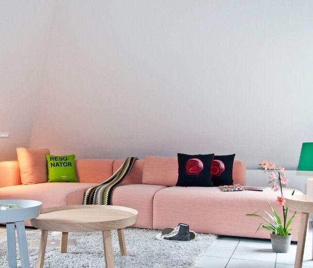 Mags By Hay Http Decdesignecasa Blogspot It Hay Interiors Living Room Interior Apartment Interior
