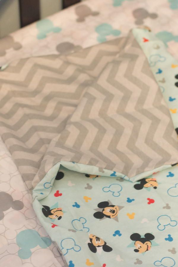 Reversible Baby Blanket Pattern | Blanket, Patterns and Sewing patterns