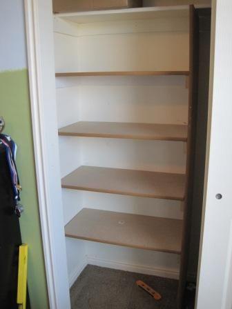 How To Build Closet Storage Shelves Easy Tutorial Storage Closet Shelving Build A Closet Easy Closet Shelves