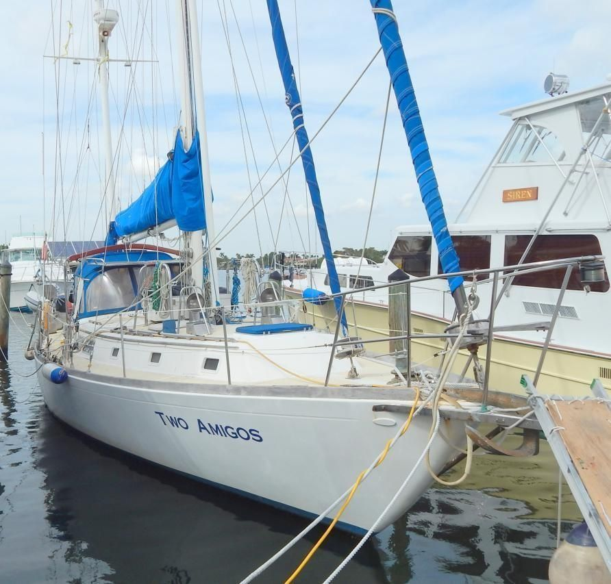 1979 Gulfstar Center Cockpit Staysail Ketch Sail Boat For
