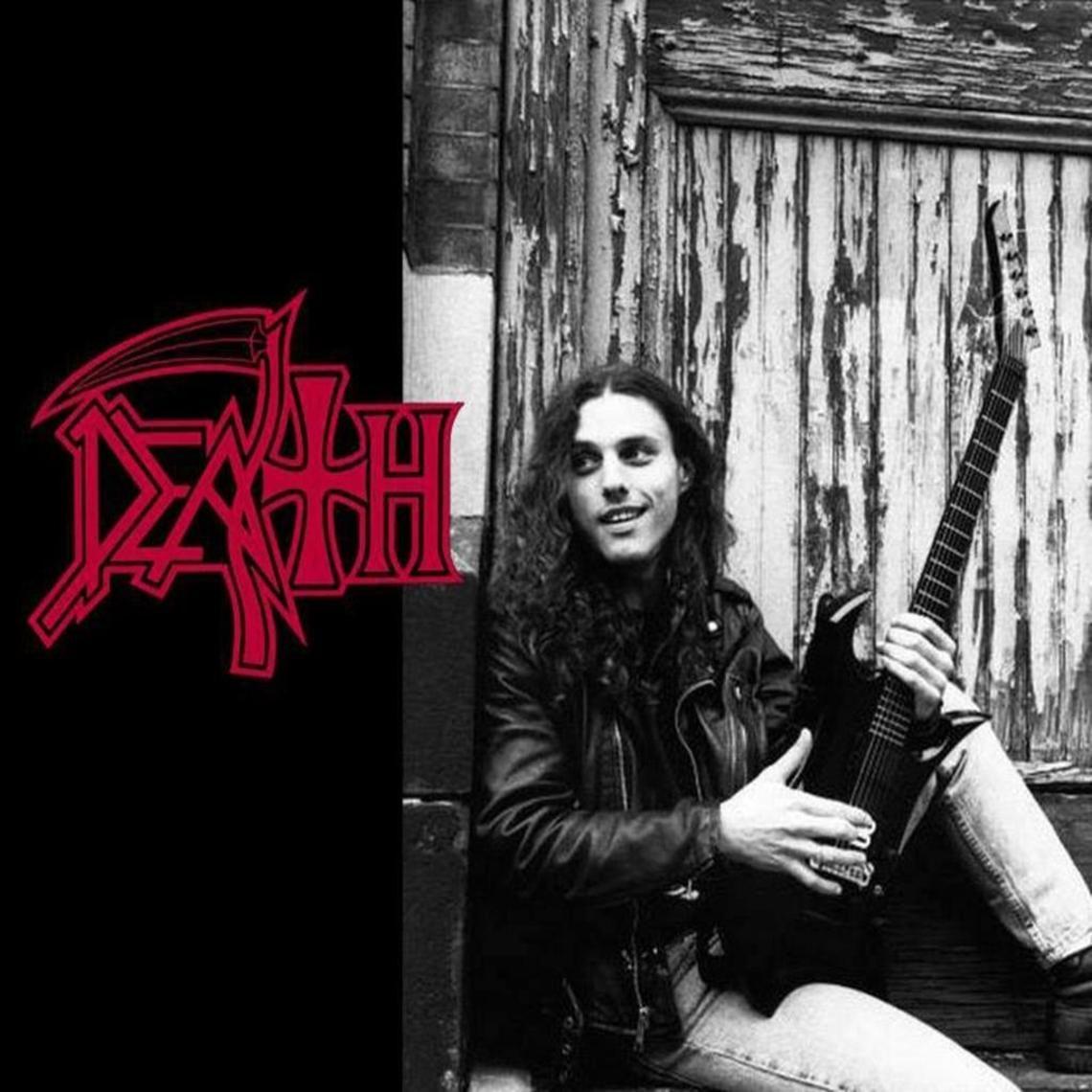 Chuck #Schuldiner (1967-2001) founder, singer and guitarist of #Death