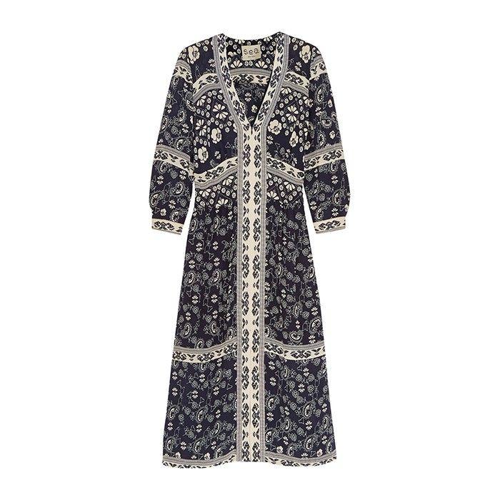 Trend Report: Boho Dresses via @WhoWhatWear