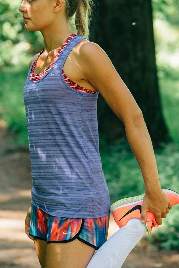 Light. Loose. Comfortable. The Nike Dri-FIT Touch Breeze Tank is perfect for running any distance.