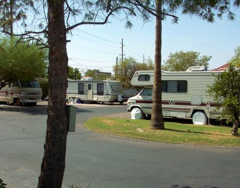 Twin Palms Rv Park At Mesa Arizona Rv Parks Truck