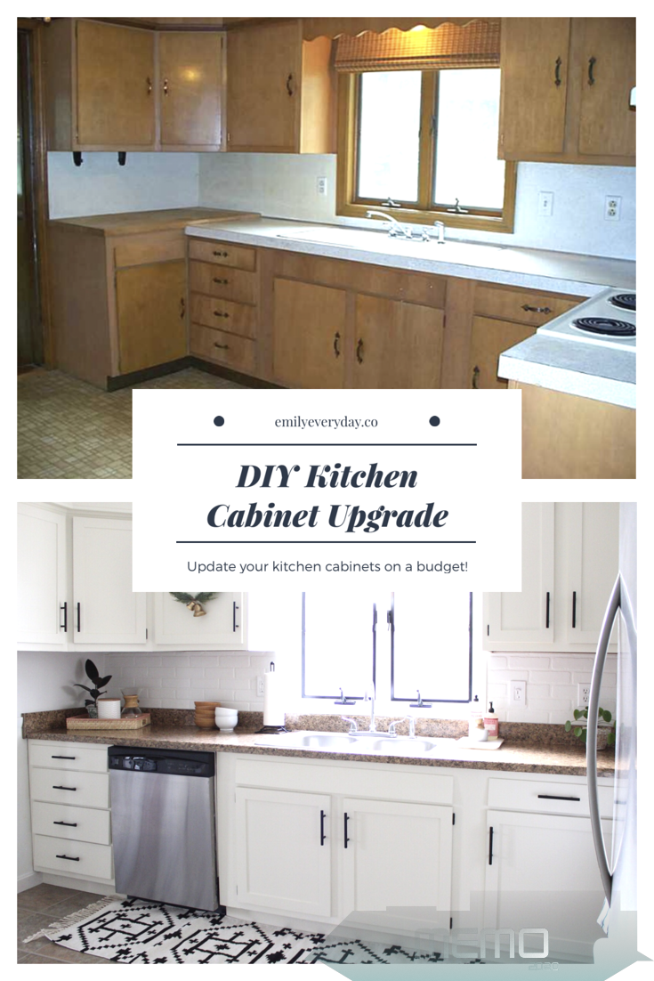 Jan 17 2018 After Two And A Half Years Of Living In A 1970 S Kitchen We Finally De In 2020 Kitchen Cabinets On A Budget Budget Kitchen Remodel Diy Kitchen Cabinets