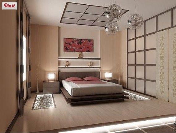 modern simple master bedroom japanese contemporary design ...