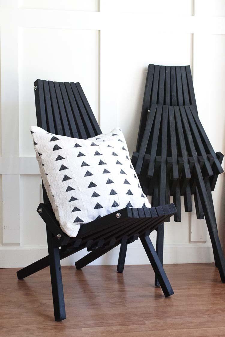 Comment Fabriquer Une Chaise Pliante En Tasseaux De Bois Idees Maison Tasseau Bois Vieilles Chaises En Bois Chaise Pliante