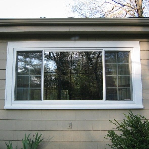 3 lite slider for the front and back windows for sunroom for Prairie style window