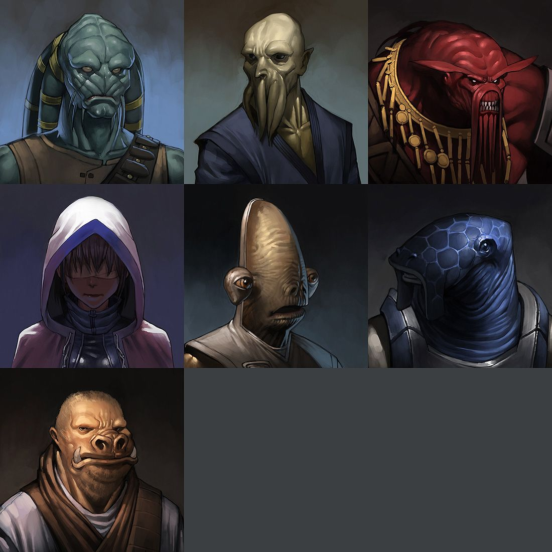 Kotor Races By Udoncrew On Deviantart Star Wars Characters Pictures Star Wars Species Star Wars Images