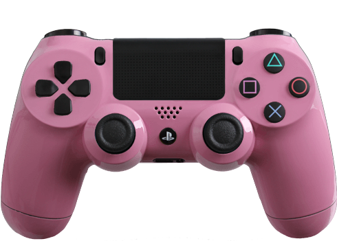 Glossy Pink Modded Ps4 Controller Dualshock Playstation Controller Wireless Controller